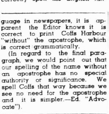 SpellingCoffsHarbour21April1950p2